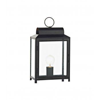Box BOX4222 rectangle table lamp in black