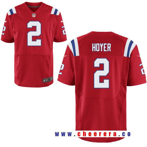 Men S New England Patriots 2 Brian Hoyer Red Alternate Stitched Nfl Nike Elite Jersey New England Patriots Jersey Patriots Nfl Jerseys