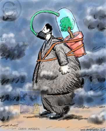 Les pays les plus affectés se situent en Asie du Sud-Est et dans le Pacifique occidental (3,3 millions de décès pour la pollution intérieure et 2,6 pour l'extérieure). Les régions à plus faibles revenus sont les plus touchées. Selon Flavia Bustreo, sous-directrice générale de l'OMS, « Un air plus propre permet de prévenir des maladies non transmissibles et de réduire les risques chez les femmes et les groupes vulnérables, y compris les enfants et les personnes âgées.