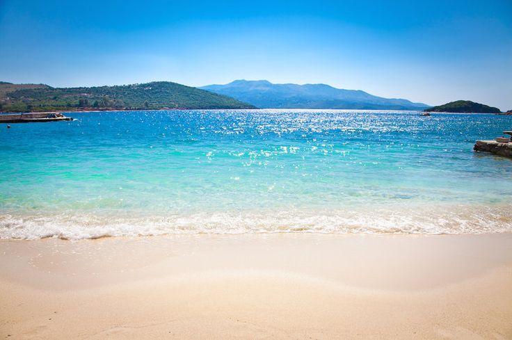 Les plages de Ksamil dans le sud de l'Albanie