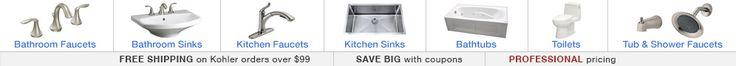"Kohler K-7160-TF Clearflo 1-1/2"" adjustable pop-up Bathtub Drain for 14""-16"" deep baths - FaucetDirect.com"