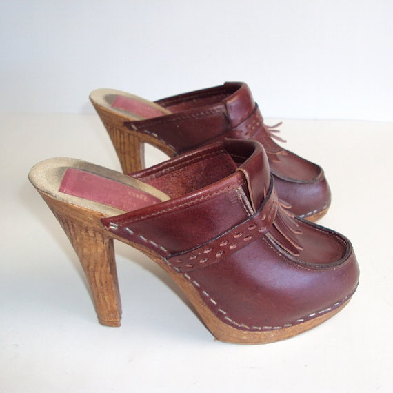 15 Best 70s Clogs Images On Pinterest | Clogs Shoes Clogs And Heel Boot
