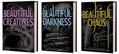 Beautiful Creatures by Kami Garcia and Margaret Stohl. I'm interested!