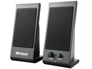 Caixa de Som 3 Watts - Multilaser SP009