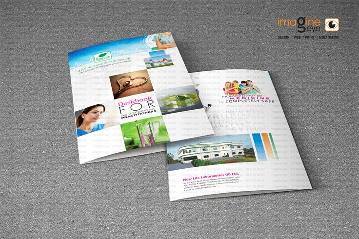 Design and Print for Bhopal Based Pharma Client : New Life Laboratories