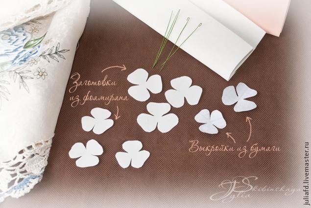 Мастер-классы цветов из фоамирана – 980 zdjęć | VK
