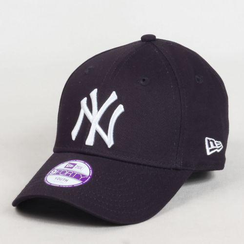 Casquette baseball Kids 940 MLB League Basic NY Cap Bleu