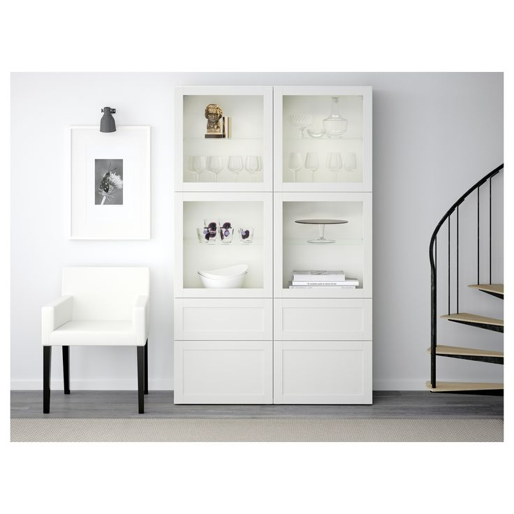153 best Kök images on Pinterest | Ikea storage, Clear glass and ... | {Buffetschrank weiß ikea 53}