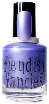 F.7-02: Here I Was Born Pearlescent Lilac inspired by preoccupation with the past, and passionate enchantment. Opaque in 2 coats.: The Tainted Love Collection ~ Inspired by movies about obsession and love gone wrong. Coming February 2016