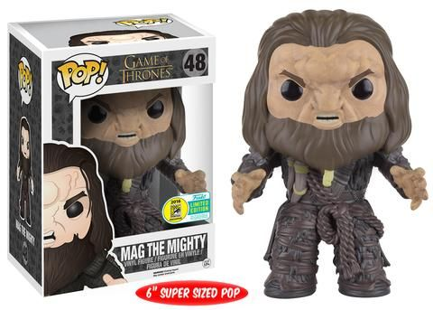 """Funko announcing their 2016 SDCC exclusives wave seven: Game of Thrones - 6"""" Mag the Mighty"""