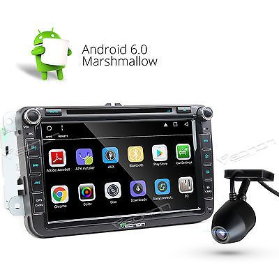 Price - $255.00.ㅤㅤㅤ                Dashcam+Android 6.0 Car GPS DVD Player WIFI for VW SEAT SKODA GOLF JETTA Rapid E
