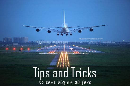 Secret tips and tricks to save big money on airline tickets! We followed these tips exactly and initially found plane tickets for $350. After these tips, we nabbed them for $139! How to save money on airfare, airline tickets, plane tickets and the insider tips on airline savings!