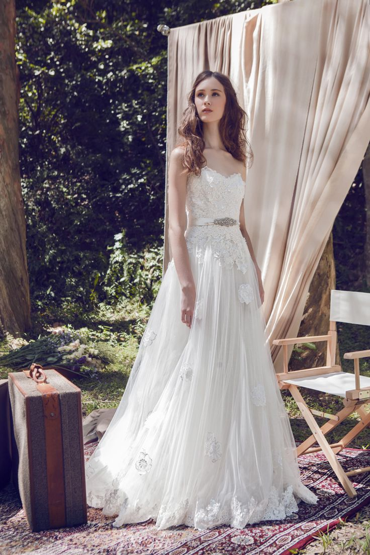 The 38 best LM by Lusan Mandongus 2017 Bridal Campaign images on ...
