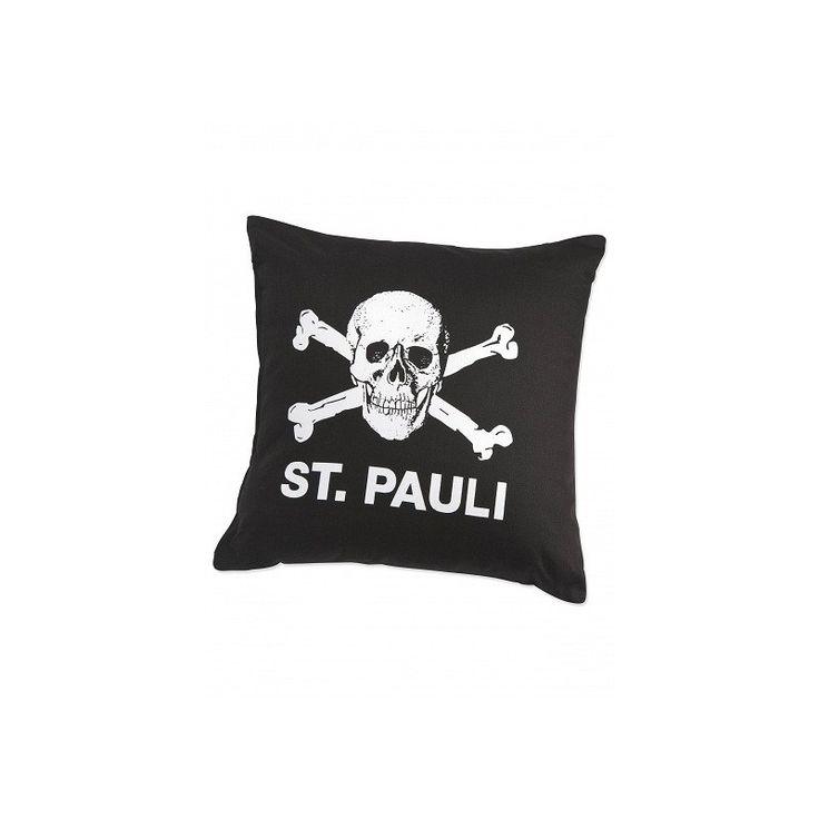 St. Pauli Skull and crossbones cushion