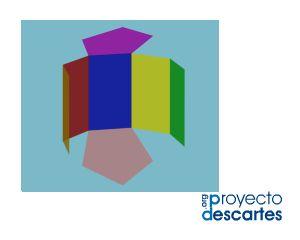 PROYECTO MISCELÁNEA. Desarrollo del prisma pentagonal regular. Reconocer las diversas formas poliédricas y de revolución en los objetos de nuestro entorno. Distinguir los elementos de un poliedro y de un cuerpo de revolución, así como el cálculo de su área y de su volumen. Investigar las simetrías y las relaciones que tienen los poliedros regulares entre ellos. Teorema de Euler. Realizar el cálculo de la superficie de la base y la superficie lateral del prisma.