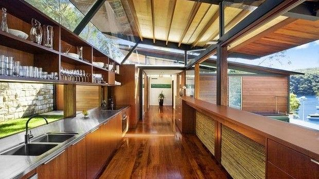 Bali-inspired: 5 Notting Lane, Cottage Point was featured on Grand Designs in 2010. It was sold for $3.35 million in 2010.