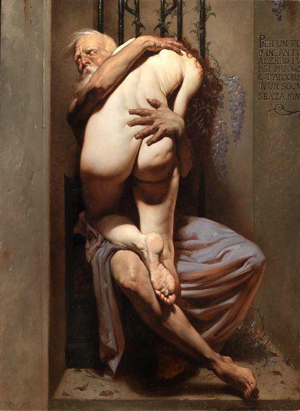 Roberto Ferri - Crepuscolo del mattino [OS] Oil on canvas [438X600] : ArtPorn