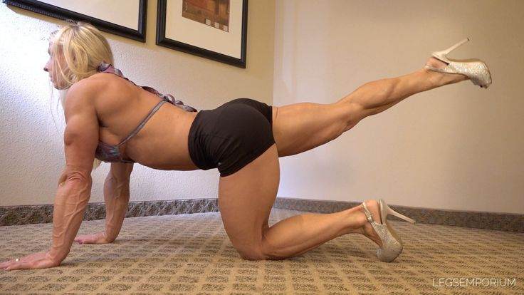 Shannon Rabon - Muscular Calves of Awesomeness Face Down
