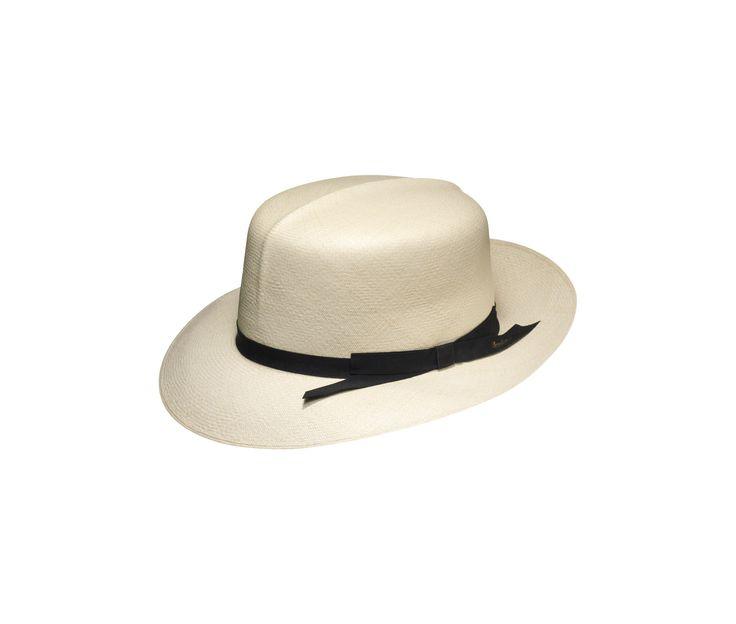 #Borsalino Panama hat. Shop it here: http://shop.borsalino.com/it/collezione-uomo/primaveraestate.html