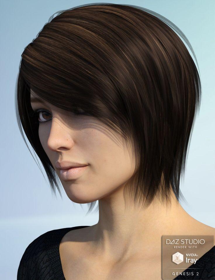 Alyssa Hair for Genesis 2 Female(s)