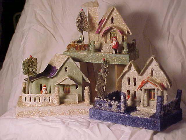 1579 best PUTZ HOUSES images on Pinterest | Putz houses, Christmas ...