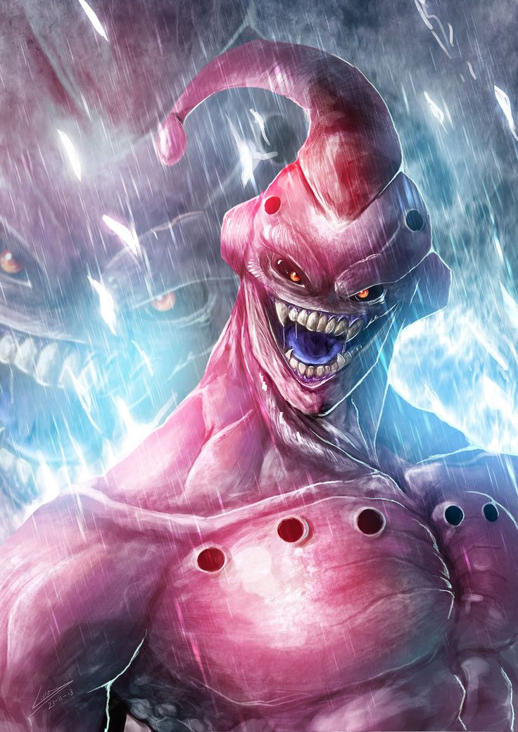 The Evil Buu by kokodriliscus.deviantart.com on @deviantART