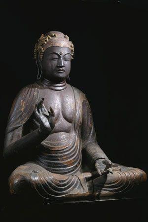 興福寺国宝館安置 木造薬師如来坐像