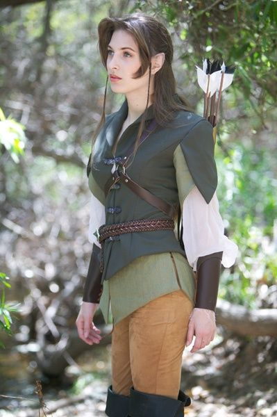lotr ranger costume | ... shall take some of this in consideration for my own elf costume
