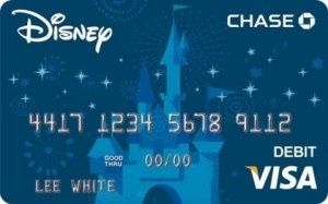 Chase Launches New Disney's Visa(R) Debit Card