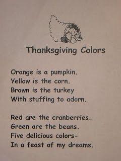 Mrs. T's First Grade Class: Thanksgiving Reader's Theater