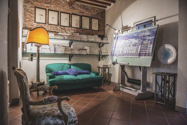 Office details www.studiolanoce.it    #studiolanoce #architecture #design #interiordesign #artdecor #furniture #madeinItaly #Tuscany