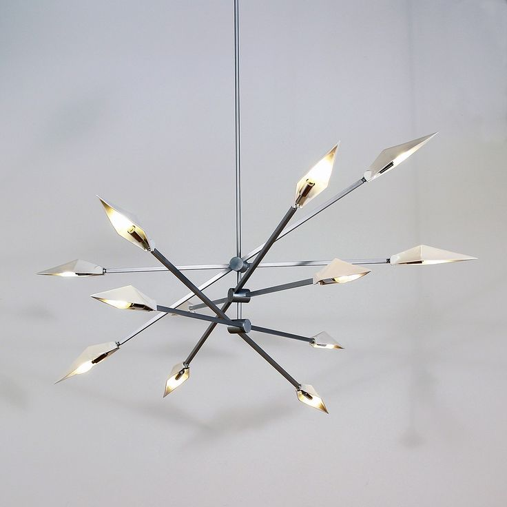Architect Shea Bajaj continues to make his mark in lighting design with the introduction of the Spark 3-30 LED Chandelier. http://www.ylighting.com/modern-verve-spark-3-30-led-chandelier.html