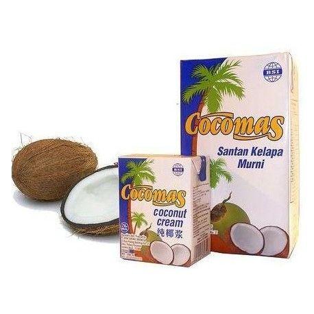 Kokosová smotana (krém) sa vyrába z kokosovej vody a z dužiny kokosového orecha. Veľmi dobre sa hodí ako na varenie tak aj na pečenie. Krém je vhodný aj na priamu konzumáciu, na prípravu dezertov, zákuskov, krémov ale tiež ako prísada do šejkov a kokteilov. Z kokosovej smotany sa dá veľmi ľahko vyrobiť chutné bezlaktózové kokosové mlieko. Cocomas kokosový krém neobsahuje žiadne prídavné ani konzervačné látky.