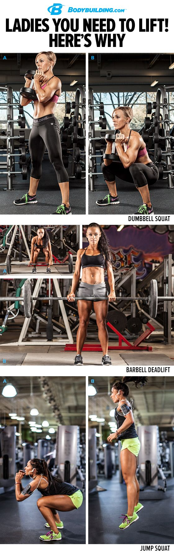 LADIES, if you want get fit, you need to lift weights. Learn the many benefits of strength training, and get started with this complete training plan! Bodybuilding.com I love this getting my muscle on.