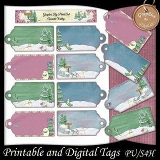 Gift Tags, Printable!