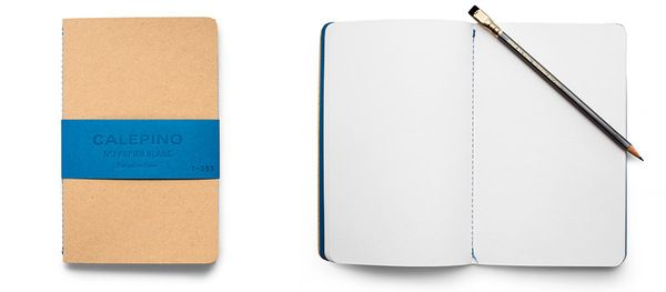 Calepino Blank Notebooks (2 Pack)