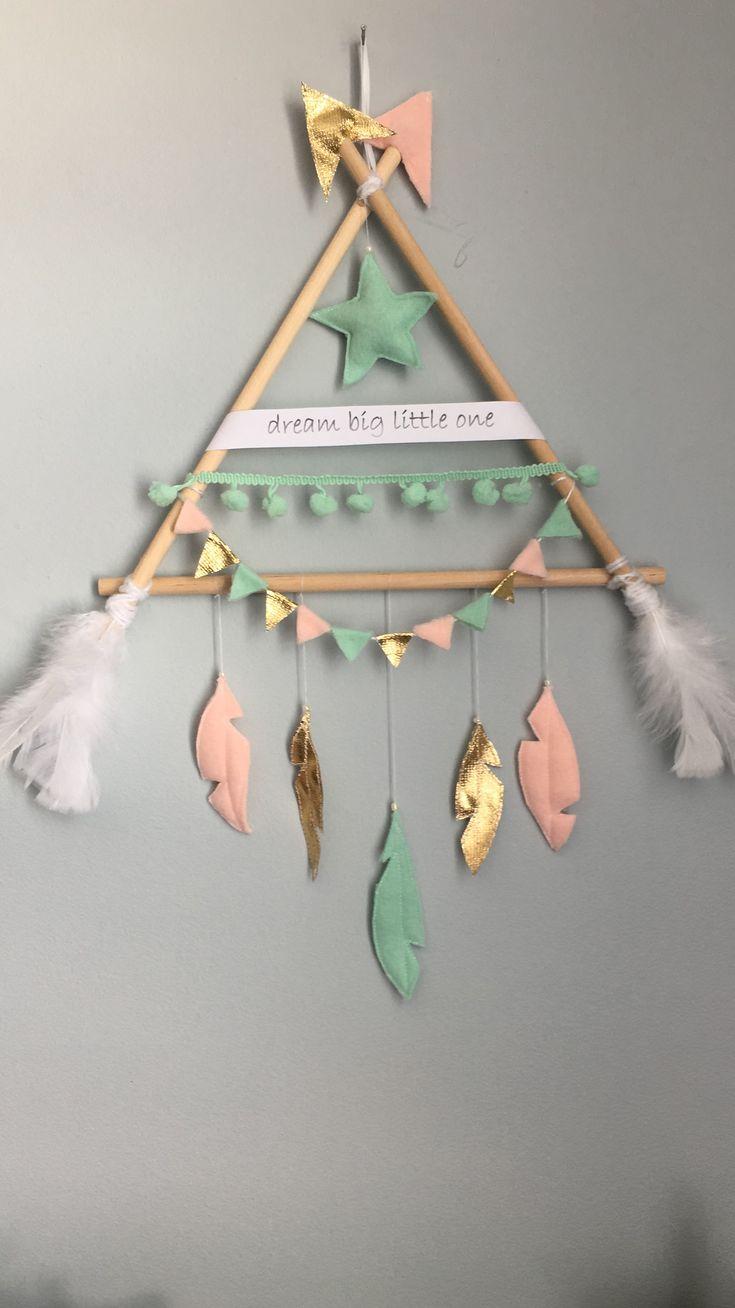 Tipi wall decoration! #handmade#felt#feltcraft#homedecor#babydecor#kidsroom#tipidecor#walldecor#mobiledecor