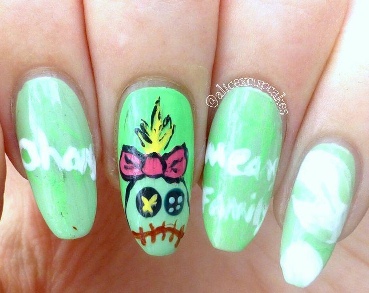 36 best Character nail art images on Pinterest | Fingernail designs ...