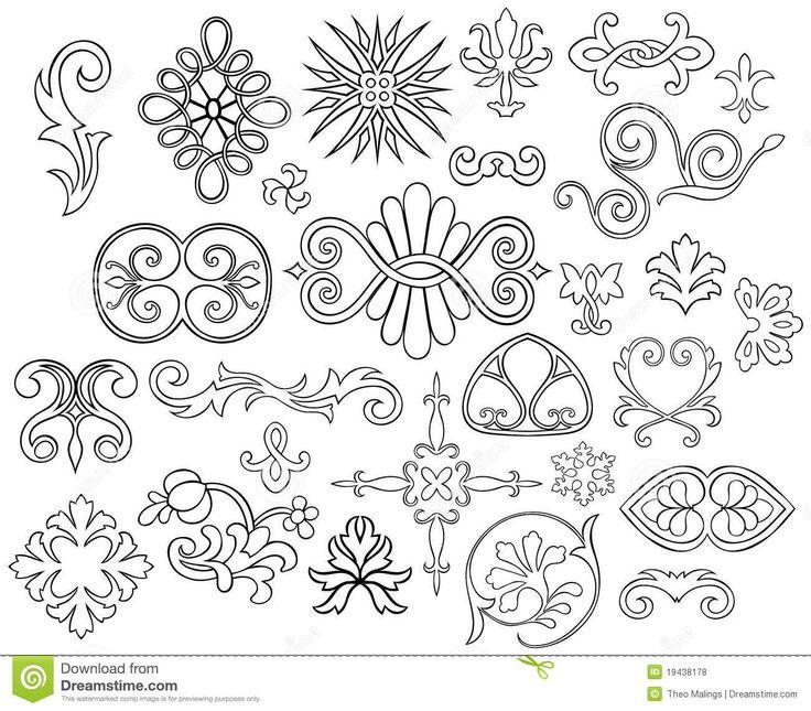 Victorian Motifs Allpix Club Keltische Muster Geometrie Nageldesign