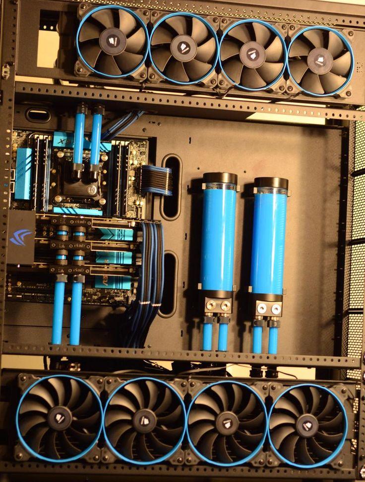 scttooo's Completed Build - Core i7-5960X 3.0GHz 8-Core, GeForce GTX 980 Ti 6GB (3-Way SLI) - PCPartPicker
