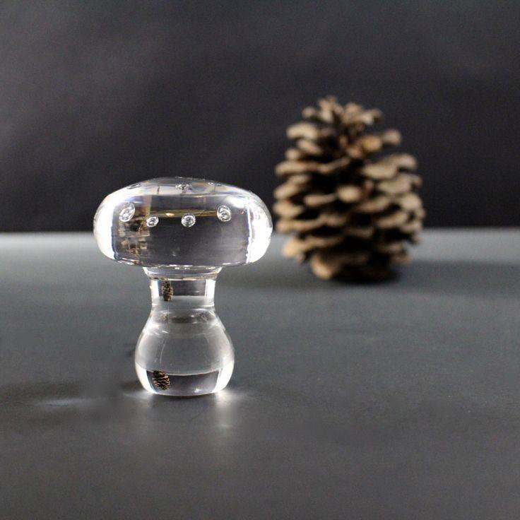 Glass Mushroom for Kosta Boda by Monica Backstrom by Hallingtons on Etsy