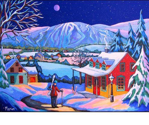 """""""Bonheur d'hiver"""" - Louise Marion"""