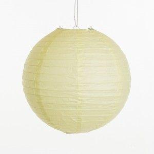 Lampion - Mint groen (30 cm & 40 cm & 50 cm)