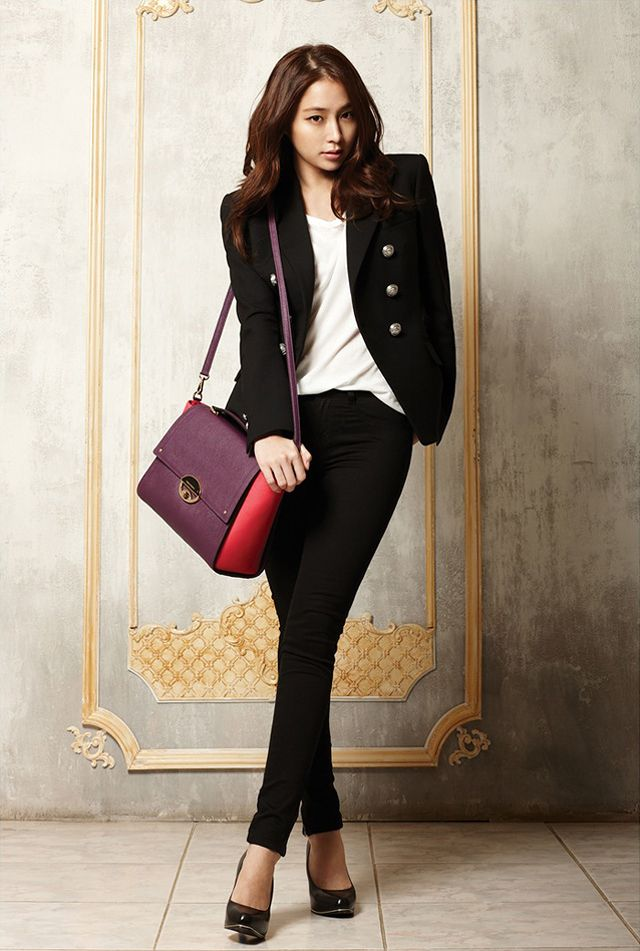 the-editorial-photoblog — Lee Min Jung for Vincis Bench F/W 2013