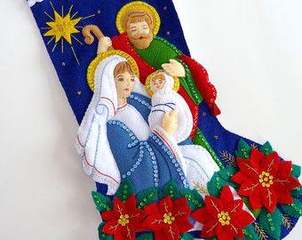 Media de la Navidad media personalizada Bucilla por HometownUSA