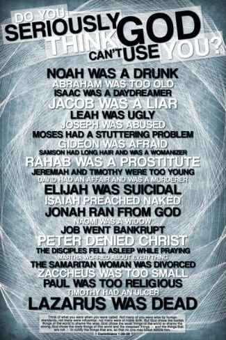 Still think God can't use you?