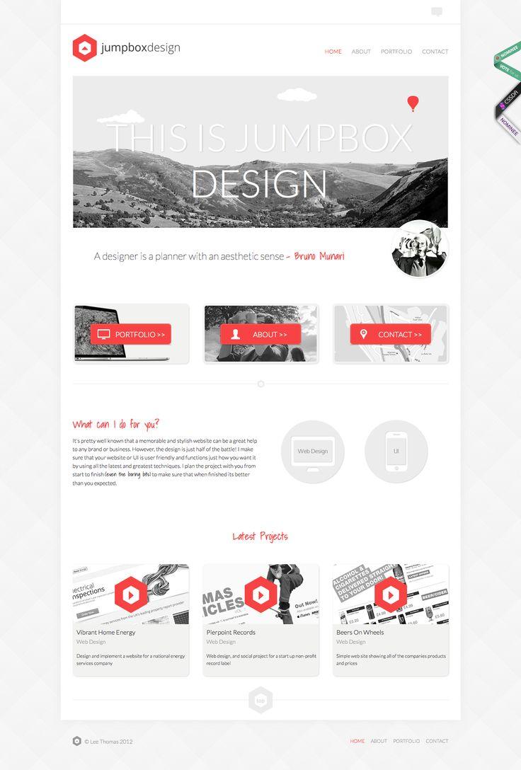 #Minimal & Clean Web Design