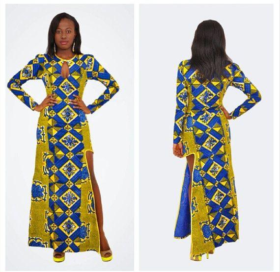 Robe de bal africain robes dankara mariage africain par TrueFond