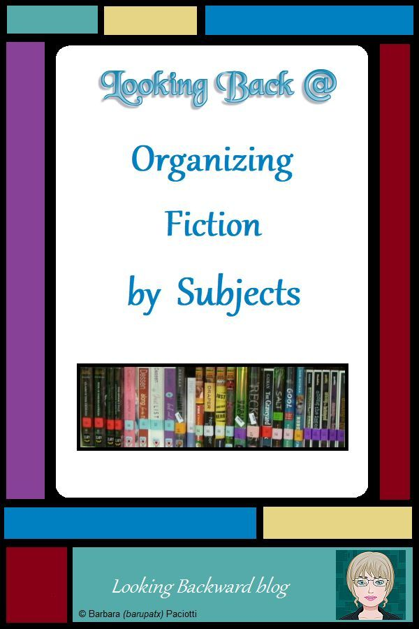Organize Your School Library S Fiction Books By Subjects