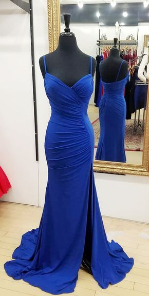 Royal+Blue+Mermaid+Long+Prom+Dresses,+2018+Straps+Long+Prom+Dresses,+Formal+Evening+Dresses My+email:+modsele.com@hotmail.com 1.+Besides+the+picture+color,+you+can+refer+to+our+color+swatch+to+choose+any+color+you+want. 2.+Besides+stand+size+2-16,+we+still+offer+free+custom+size,+wh...